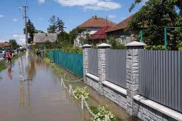 State Emergency Service warns of expected rise in river level in Zakarpattia