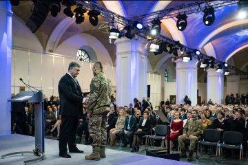 Pressekonferenz von Präsident Poroschenko am Mittwoch