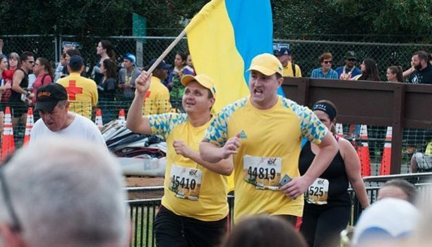 Ukrainian ATO veterans ran 10km marathon in United States on prosthetic legs. Video