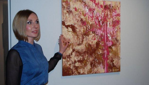 В Оттаве состоялась выставка картин украинской художницы