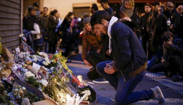Французы поминают погибших в терактах 13.11.2015