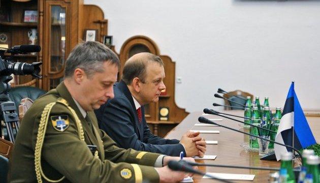 Естонія готова сприяти у реформуванні ЗСУ - посол