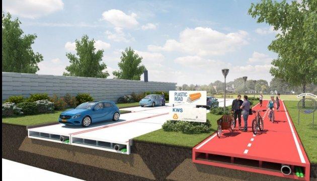 Первые пластиковые дороги могут появиться в Нидерландах