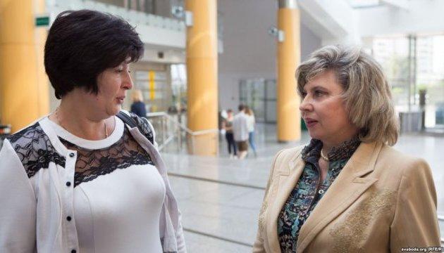 Лутковская хочет договориться с омбудсменом РФ о взаимных визитах