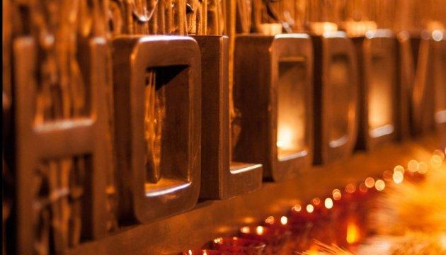 32个国家点燃蜡烛纪念乌克兰大饥荒的受害者