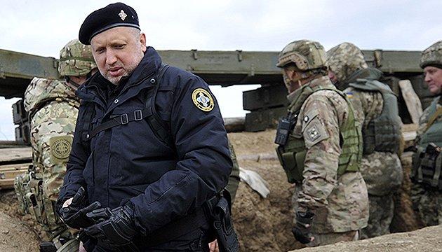 Без рішення Порошенка ніякої блокади ОРДЛО не буде – Турчинов