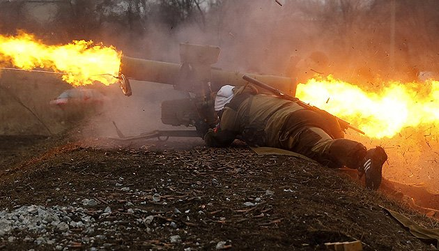 Militants launch 30 attacks on Ukrainian troops in Donbas in last day