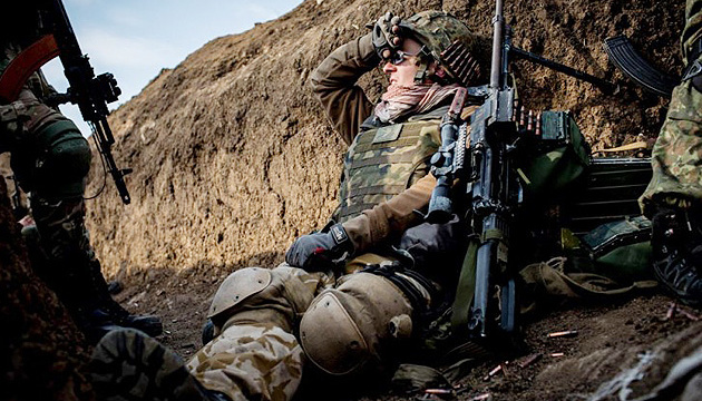 One Ukrainian soldier wounded in Donbas in last day