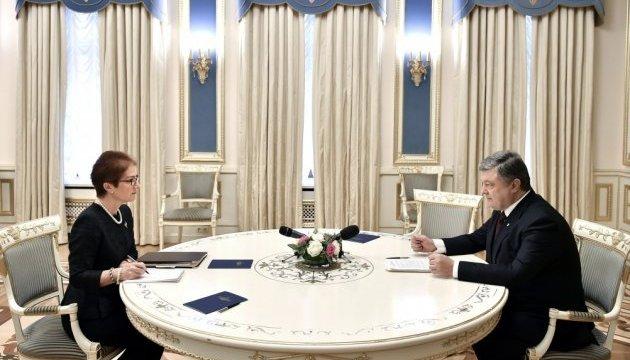 Посол США Йованович має мою повну підтримку - Порошенко