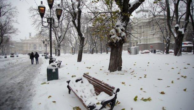 В столице ожидается мокрый снег, на дорогах гололедица