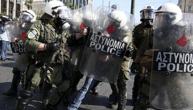 В Афинах протесты фермеров переросли в столкновения с полицией