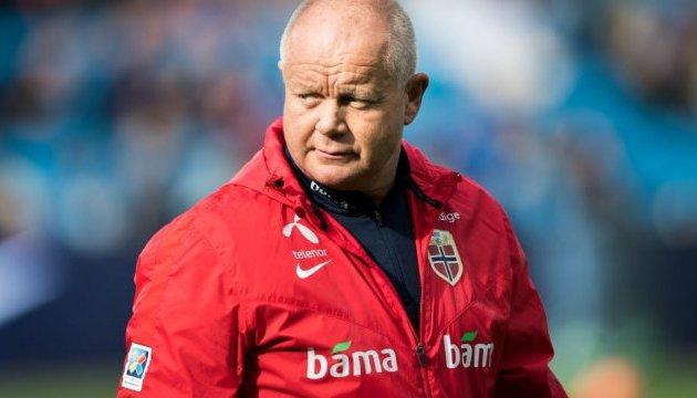 Футбольна збірна Норвегії залишилася без головного тренера