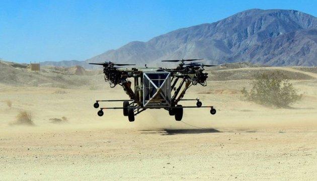 Американці показали літаючий дрон-позашляховик для військових
