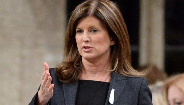 Лидер канадской оппозиции почтила память жертв Голодомора