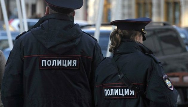 Украинский флаг над МГУ: Московская полиция отрицает избиение кого-либо