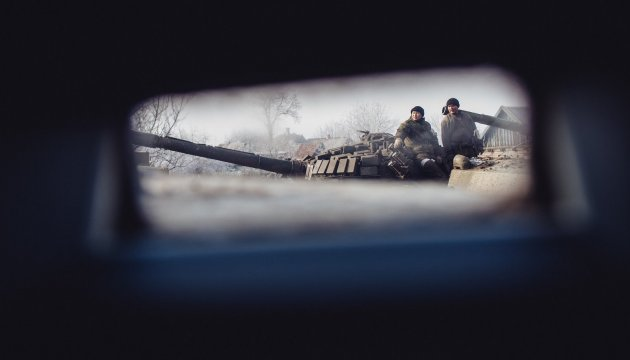 Militants launch 48 attacks on Ukrainian troops in Donbas in last day