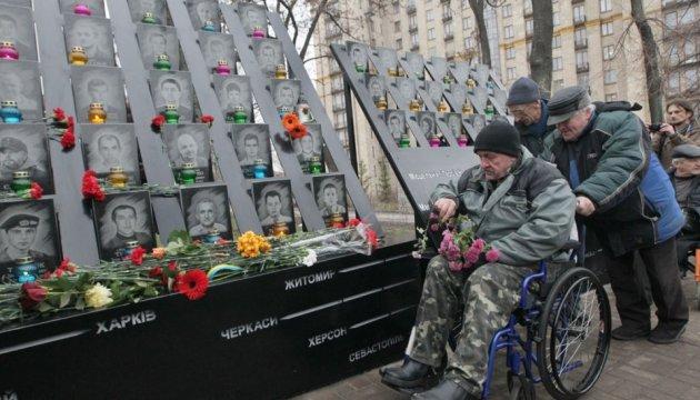 Годовщина расстрела Майдана: для участия в шествии памяти собрались около 100 человек