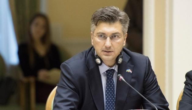 Премьер Хорватии призывает фанатов не хулиганить на матче с Украиной