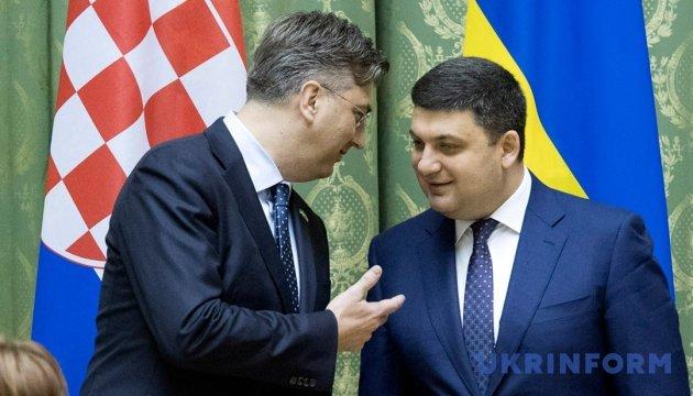 Гройсман і Пленкович домовилися поглибити співпрацю в енергетиці