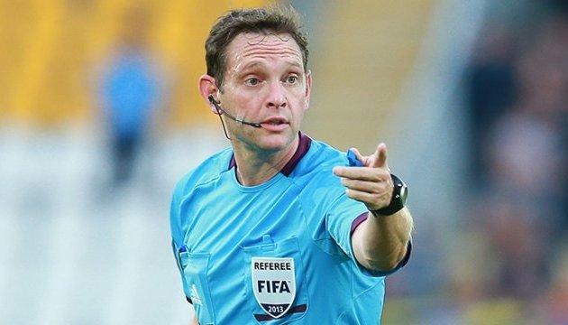 Украинец Арановський будет судить матч 5 тура Лиги Европы