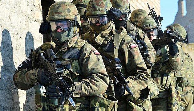 Польша за год увеличила армию на 10 тысяч военных