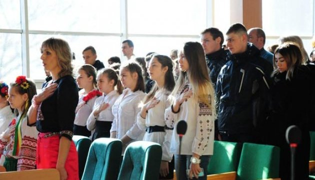 У Слов'янську відзначили День Гідності і Свободи
