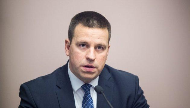 Успішна Україна буде найкращою відповіддю на агресію Москви - прем'єр Естонії