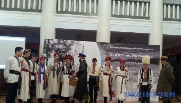 У Кишиневі вшанували пам'ять жертв Голодомору
