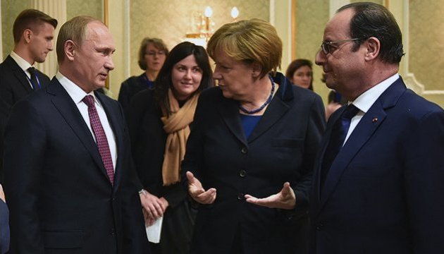 Путин, Меркель и Олланд договорились