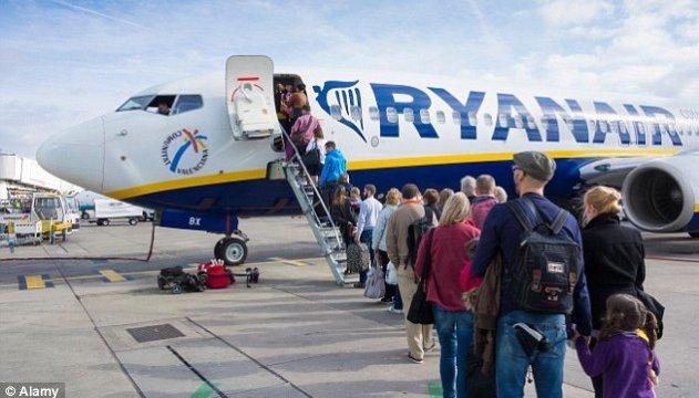 Ryanair планує перевозити з України більше півмільйона пасажирів на рік