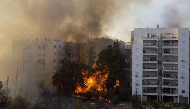 Навколо Хайфи вирує масштабна пожежа, десятки травмованих