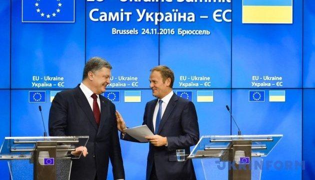 ЄС готовий сприяти прискоренню торговельних преференцій для України - Президент