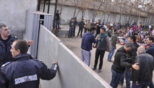 В болгарском городе Харманли мигранты устроили бунт