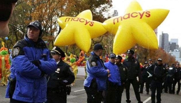 У Нью-Йорку виведено 3 тис. поліцейських для запобігання терактам на День подяки