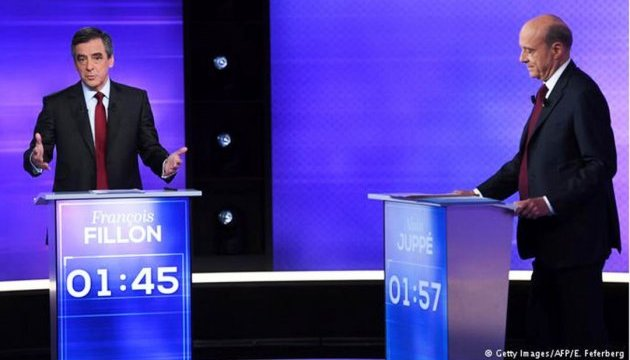 Франсуа Фійон переміг Алена Жюппе в теледебатах на праймеріз