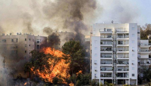 Пожежі в Ізраїлі: поліція заявляє про понад дві сотні підпалів