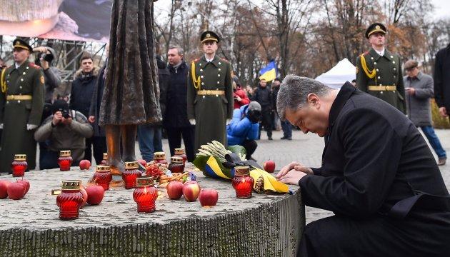 Порошенко: Голодомор 30-х в Україні - наслідок втрати державності