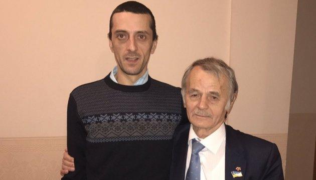 Мустафа Джемілєв зустрівся із сином