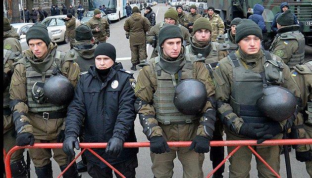 Nationalgarde darf Wasserwerfer in der Menschenmenge einsetzen