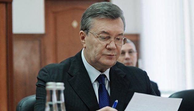 Госизмена: ГПУ ждет Януковича на допросы 27 и 30 января