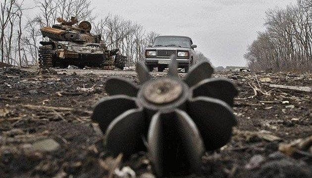 АТО: боевики наседают в районе Марьинки и на приморских рубежах