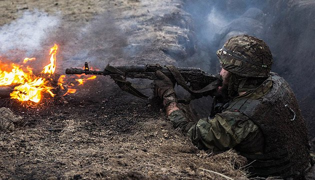 Four Ukrainian soldiers wounded in ATO zone in last day