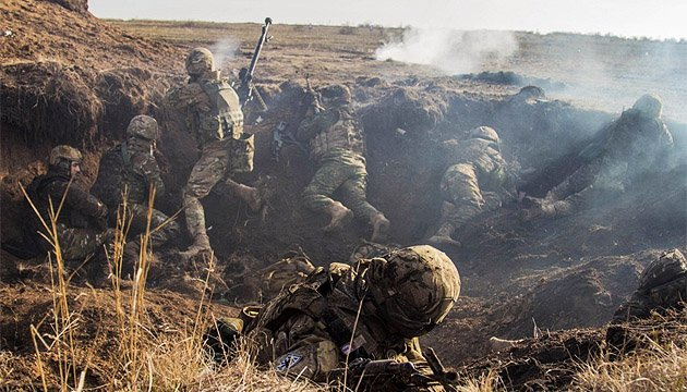 Ten Ukrainian soldiers wounded in ATO zone in last day