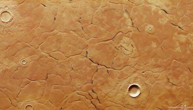 ЕКА показало лабиринты на Марсе