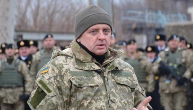Generalstabschef Muschenko: Bedrohung durch Russland so hoch wie seit 2014 nicht