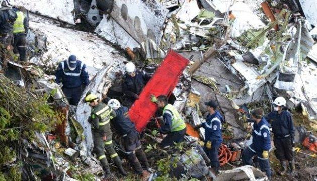 Стала відома причина падіння літака з футболістами у Колумбії
