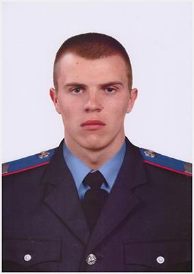 молодший інспектор Броварського міжрайонного відділу  Управління поліції охорони  старший сержант поліції Сергій Орлов