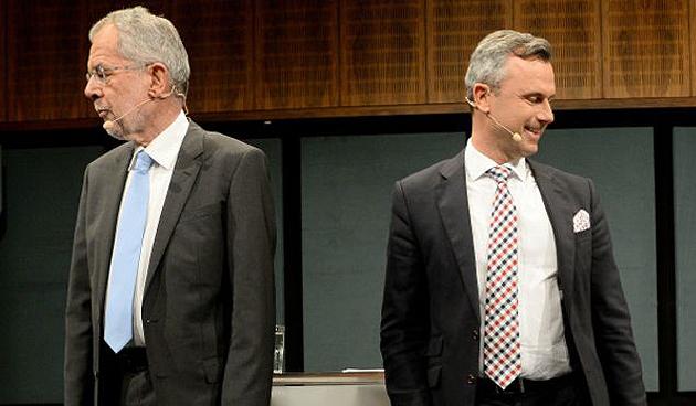 Ван дер Беллен,  Норберт Хофер / Фото: AFP
