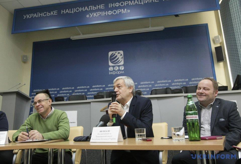 Олександр Харченко та Ян Пєкло (зліва направо)