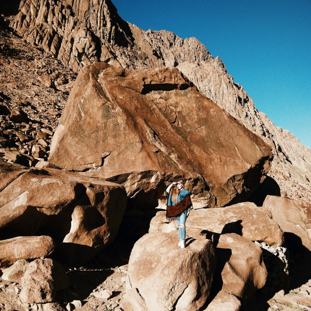Подножье горы Sinai